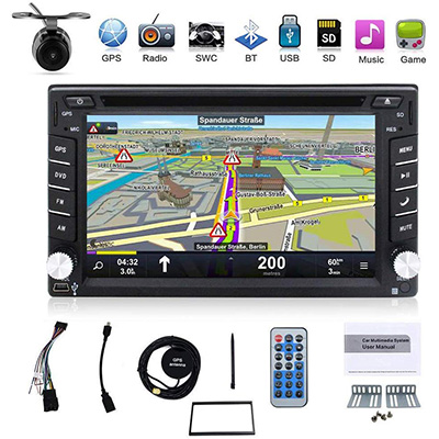 4. BOSION Navigation CE product 6.2-inch Double DIN Car Dvd Player