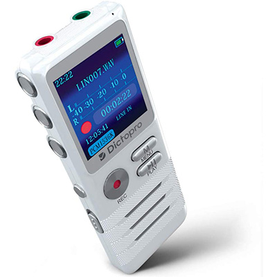 1.DICTOPRO Digital Voice Activated Recorder
