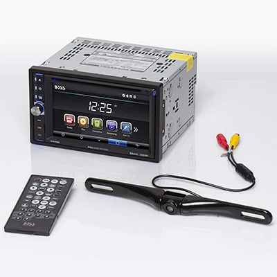 1. Boss Audio Systems Car DVD Player (BVB9358RC)