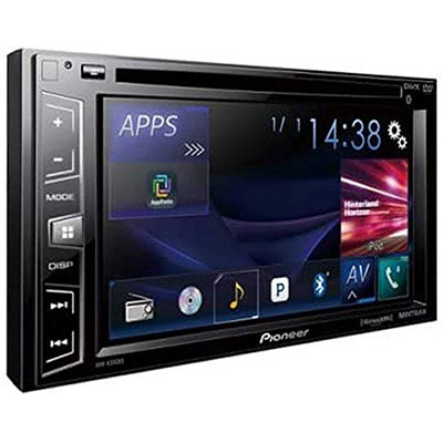 9.Pioneer Double Din Car Stereo (AVH-X390BS)