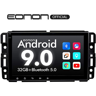 10. Eonon Double Din Car Stereo with Bluetooth