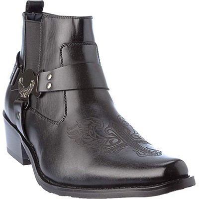9. Shoes Picker western10 Mens Western Style Cow-Boy Boots
