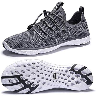 6. DLGJPA Men's Lightweight Water Shoes Walking Shoes