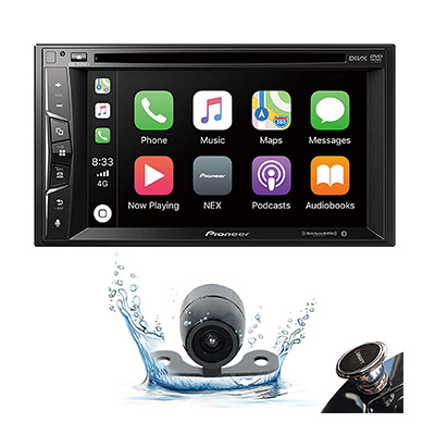 7. Pioneer Double DIN Car Stereo Receiver