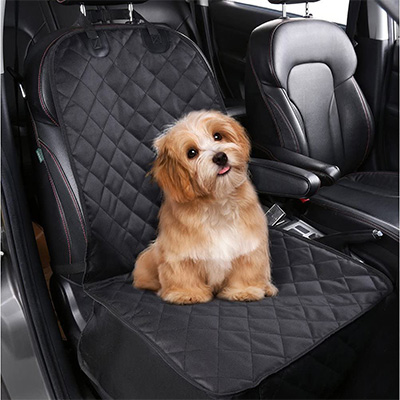 6. pedy Pet Front Seat Cover for Cars