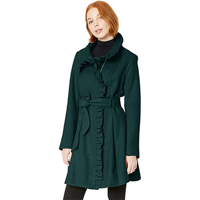 10. Steve Madden Women's Wool Fashion Coat