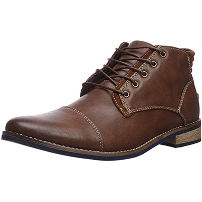 9. Deer Stags Men's Rhodes Cap Toe Chukka Boot