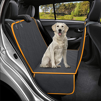 8. Active Pets Dog Back Seat Cover Protector for Cars and SUVs