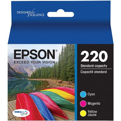 6. Epson T220520-S Ultra Color Combo Pack
