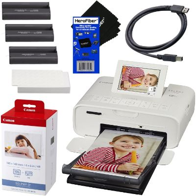 10. Canon SELPHY CP1300 Photo Printer