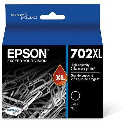 9. Epson T702XL120-S High Capacity Cartridge Ink