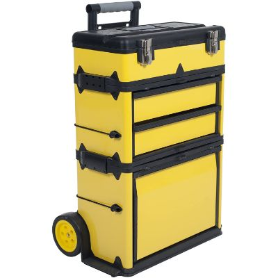 3. Stalwart Stackable Toolbox Rolling